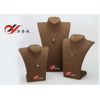 China Grass Rope Necklace Display Stand 130 * 100 * 290mm For Jewelry Exhibition wholesale