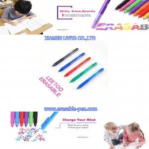 China Magic Retractable Erasable Gel Ink Frixion Clicker Pen wholesale