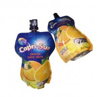 China High Barrier Stand Up Plastic Bags , Liquid Pouch With Spout FDA Certification wholesale