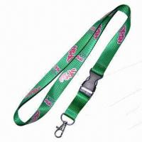 Buy cheap Lanyard, made of Tetolon, Measures 900 x 20mm from wholesalers