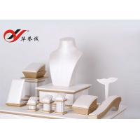 China PU Leather Jewelry Display Props Free Design For Showcase OEM / ODM wholesale