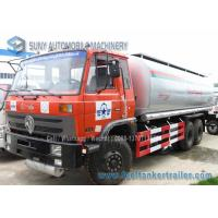 China 10 Wheel Chemical Tanker Truck 20000 Litres Carbon Steel 210 hp Dongfeng wholesale