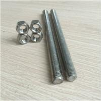 China M30 Class 8.8 Zinc Plated Carbon Steel 1m Threaded Rod wholesale