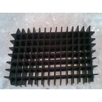 China Black / White Heat resistance Foldable Plastic Divider Sheets for buffer / packing wholesale