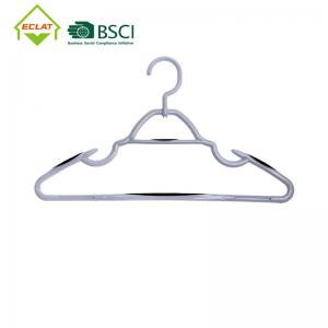 China With Secure Grip Strips And Durable Chrome Metal Hooks Plastic Hanger wholesale