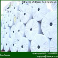 Quality Well Coating 230gsm-400gsm Duplex Board Grey Back for sale