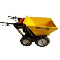 China Four Wheel Garden Wheelbarrows with B&S Engine 750 / Power Assist Wheelbarrow wholesale