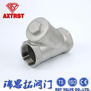 """China 800# Screwed End Stainless Steel Y Strainer CF8 / CF8M 1/4 - 4"""" Metal Strainer wholesale"""