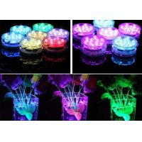 Plastic Vases RGB LED Light Base Stand IP54 For Wedding Decoration ,  Remote Control Manufactures