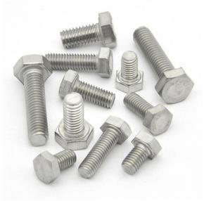 China High Precision Galvanized Hex Bolts Anti Corrosion Hardware Accessories wholesale