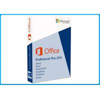 China Genuine Computer Software System Office 2013 Professional 32 / 64 Bit For 1 PC wholesale