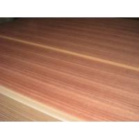 China Engineered or Nature Veneer Fancy MDF Board with birch , sapele , cheery color wholesale