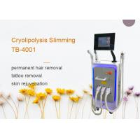 China Three Handles E-light IPL RF For Permanent Hair Removal / Acne Treatment wholesale