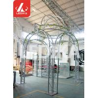 China Wedding / Event / Party Crowd Control Barrier Circle Shape White Stage Truss wholesale