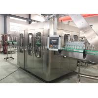 China Automatic 500ml Glass Bottle Filling Machine , Carbonated Energy Drink Filling Machine wholesale