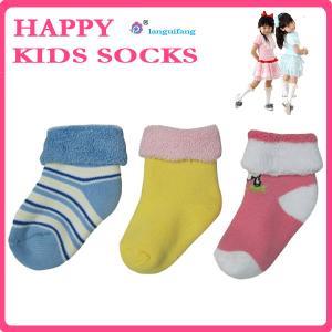 China Custom Cotton Kids socks from Guangzhou Socks Factory on sale