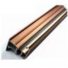 China U Shaped Aluminium Profile ,  Mechanically Polished Aluminium Corner Profile Joint wholesale