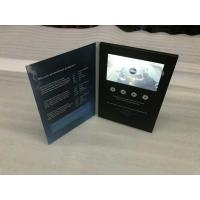Quality HD5inch hardcover Brochure Cards for Presentations Digital Advertising Player for sale