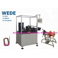 China Auto Paper Inserting Coil Winding Machine By Flat Wire PLC Control Mode wholesale