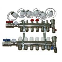 China Floor heating water distribution manifold  on sale