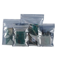 China Anti-static Zip-lock bags for Electronics Laminated 0.075mm Esd Shielding Bag on sale