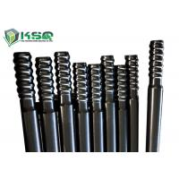 China Extension Top Hammer Threaded Drill Rod  For Mining / Tunnel Drilling Carbon Steel wholesale