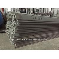 China Pickled Surface 201 Stainless Steel Angle Bar ASTM A479 For Industry Use wholesale