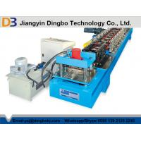 Buy cheap Manual Decoiler Rolling Shutter Door Roll Forming Machine For 13 Forming Stations from wholesalers