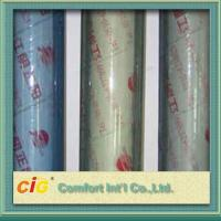 China Vinly Clear Plastic Sheet Transparent PVC Sheet 10-100m / Roll on sale
