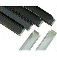 China Silvery Alloy Mounting Aluminum Solar Panel Frame High Accuracy wholesale
