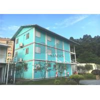 China Multistory Flat Pack Container House , Flat Pack Steel Storage Containers For Dormitory on sale