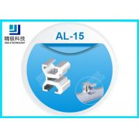 China Aluminum Board Holder Flexible Pipe Fitting 6063-T5 Joints For Workbench AL-15 wholesale