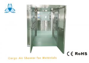 China SS304 Swing Door Clean Room Air Showers For Material Entry wholesale