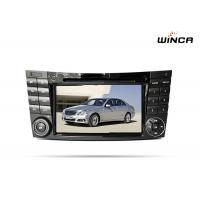 Buy cheap Gps navigation car audio android 6.0 Mercedes E Class radio dvd with wifi from wholesalers