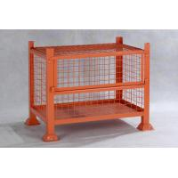 China IBC Steel Mesh Storage Cages / Metal Cage Storage Units For Products Storage wholesale