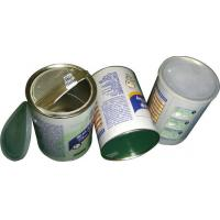 China Food Grade Easy Peel Off Lid Airproof Paper Composite Cans , candy packaging tube wholesale