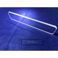 China Colorless Transparent Sapphire Optical Windows With 99.999% Al2O3 Materials wholesale