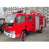 China Red Double Row Small Fire Fighting Vehicle 140 HP 4 X 2 Truck wholesale