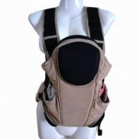 China Baby Carrier with 3 Ways, Breathable Function and EN Standard, Made of Fabric wholesale