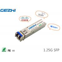 China 1G SFP 1310nm 20km SFP transceiver SFP Fiber Module compatible with verious brand wholesale