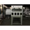 China Mixed Water Wet Abrasive Blasting Cabinet , Recycle Common Sandblast Cabinet wholesale