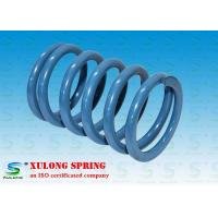 China Tempered Steel Packaging Machinery Springs Industrial Blue Powder Coating wholesale