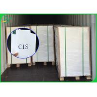 Quality FSC Certified Silk C1S Paper  For Making Advertising Brochure Or Birthday Card for sale