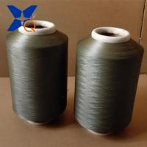 China copper plated CuS nylon 6  DTY conductive filaments 70D/24F for anti bacteria socks/beddings-XT11148 wholesale
