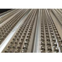 China 21mm Height Galvanized High Ribbed Formwork 0.45mm Width For Engineering wholesale