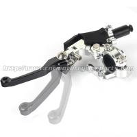 China DRZ 400 S Motorcycle Brake Clutch Lever Dirt Bike Clutch Handle CNC Aluminum wholesale