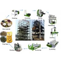 China AMEC Auto Complete Animal Feed Pellet Production Line 1 - 30t/H For Chicken Cattle wholesale