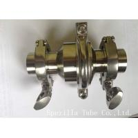 Sanitary Elbow Valves Stainless Steel Valves And Fittings ASTM A270 Manufactures