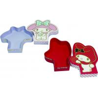 Cartoon characters shape decorative gift boxes with lids packed sweet chocolate