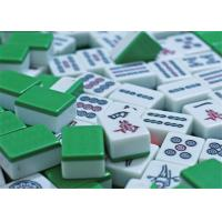 China ABS / PVC Mahjong Cheating Devices Tiles With Infrared Marks For Mahjong Gambling wholesale